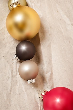 An image of some nice christmas balls photo