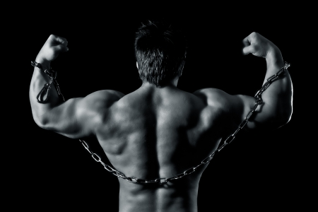 An image of a handsome young muscular sports man Stock Photo - 11739750