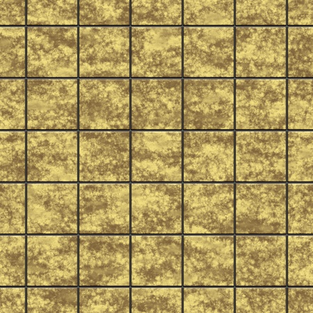 An image of an old yellow tiles background seamless photo