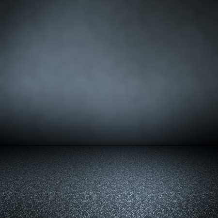 abandoned room: An image of a dark background for your content Stock Photo