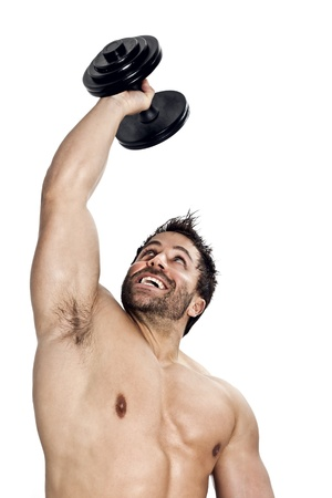 An image of a handsome young muscular sports man Stock Photo - 11740479