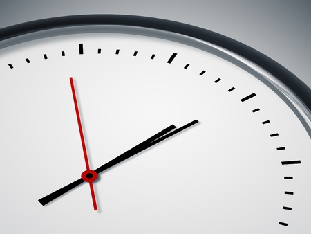An image of a nice simple clock background photo