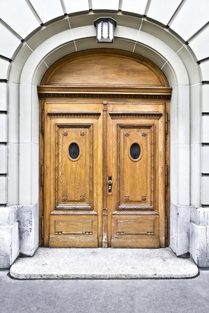 An image of an old door in Bern Swiss Stock Photo - 11943557