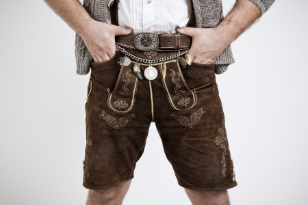 octoberfest: An image of a traditional bavarian man