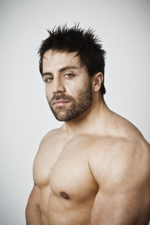 An image of a handsome young muscular sports man Stock Photo - 12084744