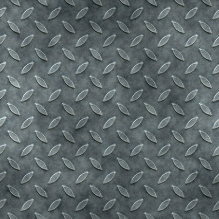 An image of a seamless diamond metal plate texture Stock Photo - 12397436