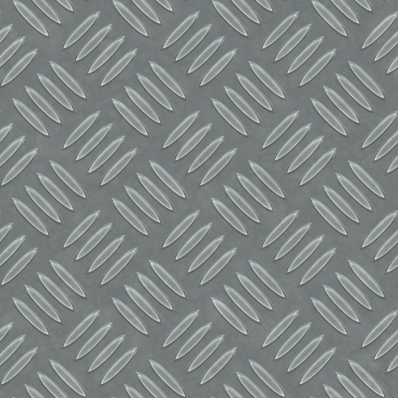 An image of a seamless diamond metal plate texture photo
