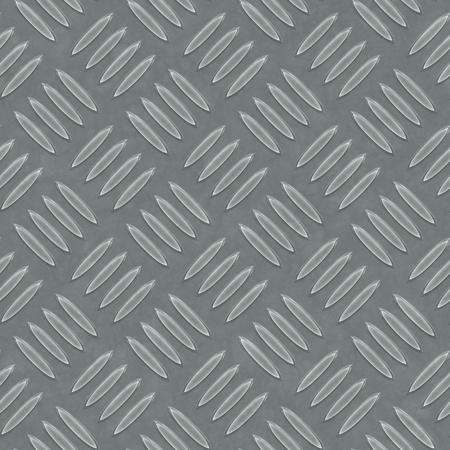 An image of a seamless diamond metal plate texture Stock Photo - 12397450