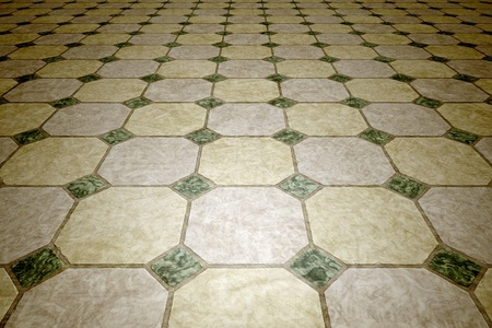 tiles floor: An image of a seamless vintage tiles background