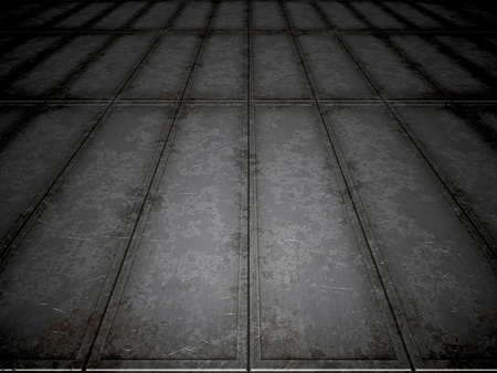 An image of a steel floor background photo