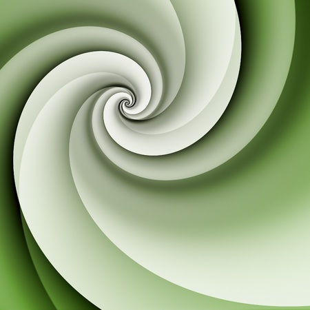 An image of a stylish modern green spiral background Stock Photo - 12397791