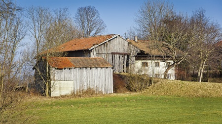 An image of an old farm in Bavaria Germany photo
