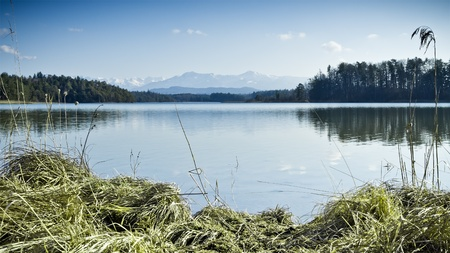 An image of a nice and typical bavarian landscape Stock Photo - 12931018
