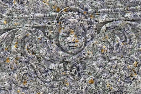 An image of a nice stone angel photo