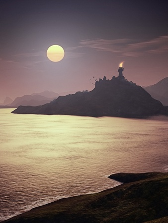 An image of a nice fantasy landscape Stock Photo - 13197055