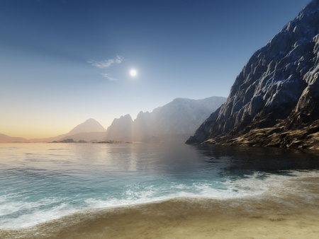 An image of a nice ocean scenery Stock Photo - 13228733