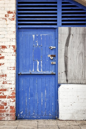 An image of a nice old blue door Stock Photo - 13283453