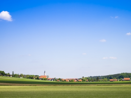 An image of a bright sun background bavaria photo