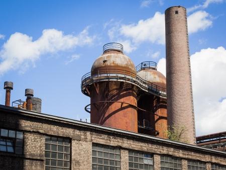 paesaggio industriale: Il Sito Voelklinger Huette Saarland in Germania
