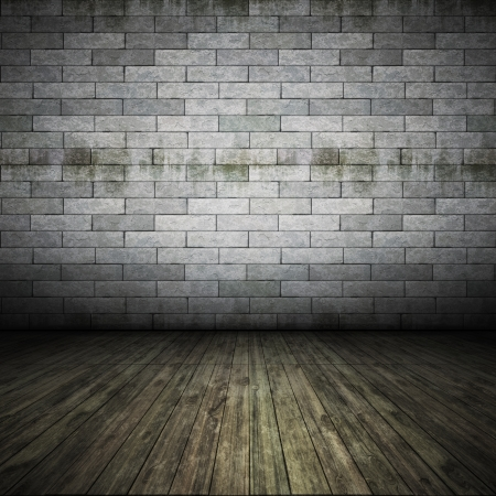An image of a nice brick wall floor for your content Stock Photo - 14177378
