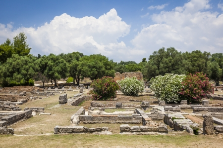 archaeology: An image of the famous heritage Olympia in Greece