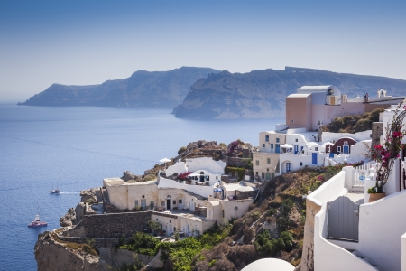 An image of a nice Santorini view photo