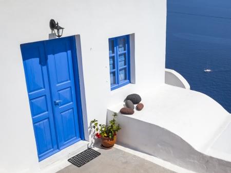 An image of a nice Santorini view Stock Photo