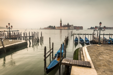 An image of the beautiful early morning Venice photo