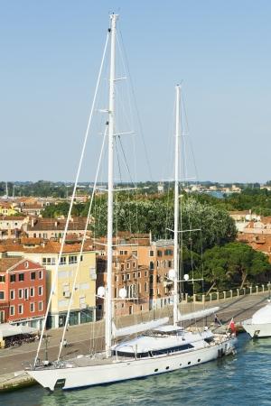atl: An image of a nice sailing boat atl Venice in Italy