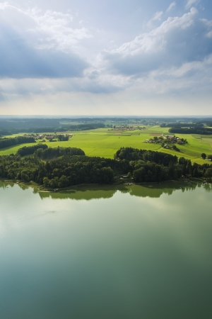 An image of a panoramic aerial view Bavaria Stock Photo - 14854727