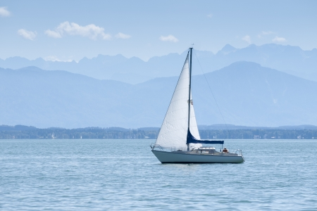 An image of the Starnberg Lake in Germany photo