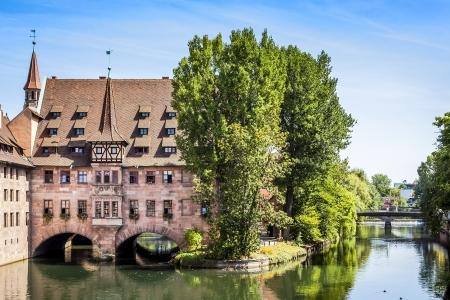 Ein Bild von der Heilig Geist Spital Nürnberg Bayern Deutschland