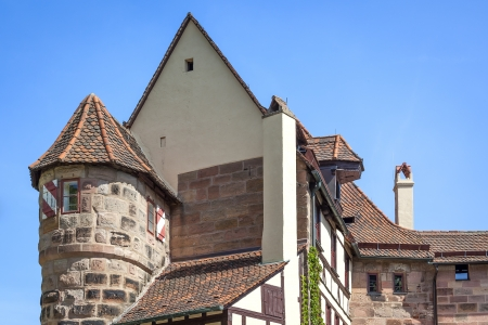 archtecture: An image of the Castle of Nuremberg Bavaria Germany
