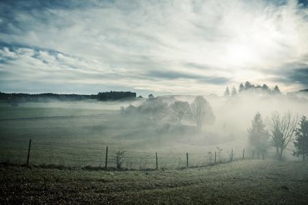 An image of a nice misty scenery