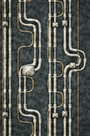 A background image of some nice pipes Stock Photo - 15313821