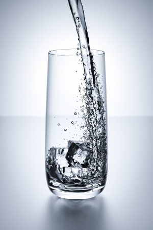 An image of a nice glass of water photo