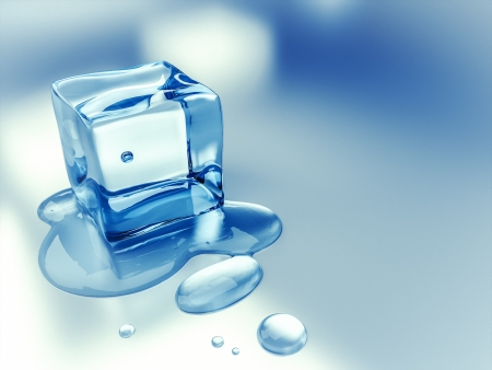 An image of a nice ice cube background photo
