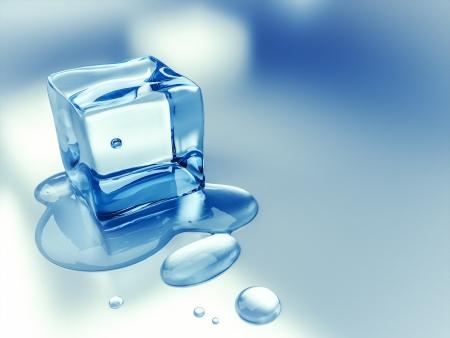 melting: Una imagen de un fondo de cubitos de hielo agradable Foto de archivo