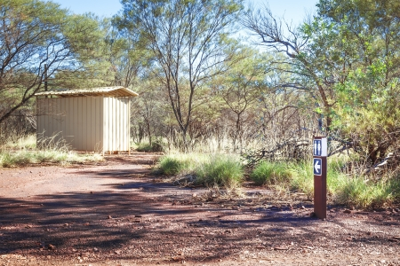 An image of an australian bush loo Stock Photo - 17709518