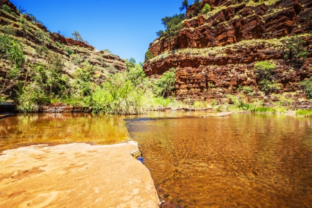 gorge: An image of the beautiful Dales Gorge in Australia