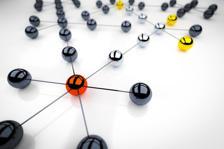 An image of a nice networking illustration Stock Illustration - 17709451