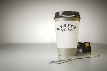 An image of a nice coffee to go background photo
