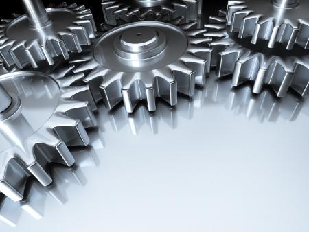An image of some nice steel gears photo