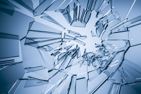 shattered glass: An image of a stylish glass background