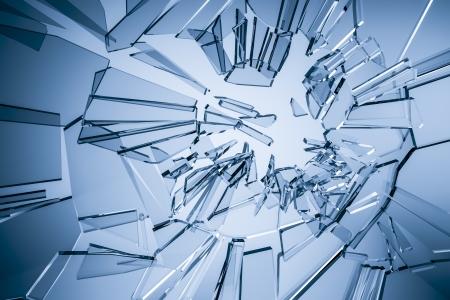vidrio roto: Una imagen de un fondo de cristal elegante