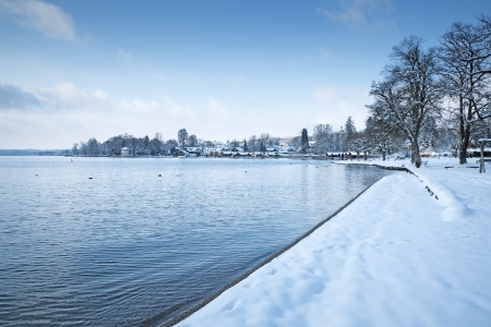 An image of the Starnberg Lake in Bavaria Germany - Tutzing photo