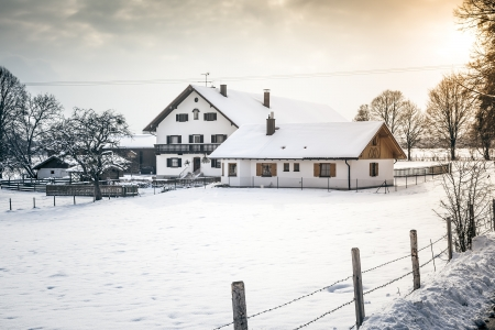 An image of a nice winter scenery Stock Photo - 17838995