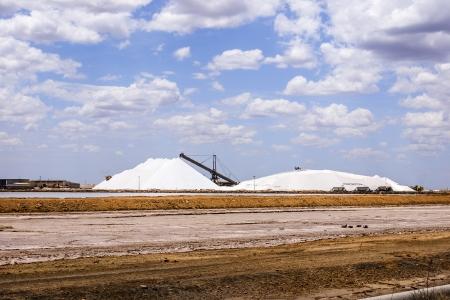 headland: An image of salt in Port Headland Australia