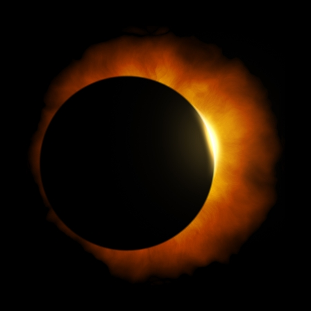 An image of a nice sun eclipse Stock Photo - 18245008