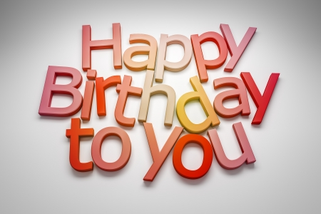 An image of a Happy Birthday to you greeting